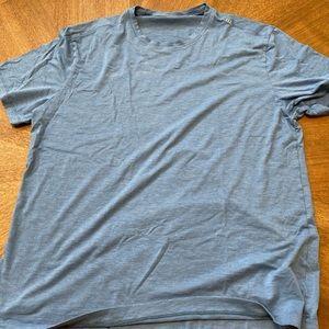 XL lululemon blue tee shirt